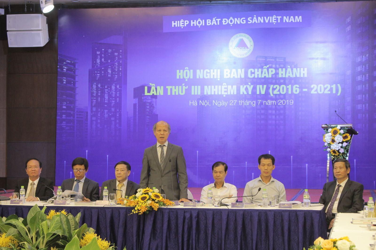 Ông Nguyễn Trần Nam - Chủ tịch Hiệp hội Bất động sản Việt Nam