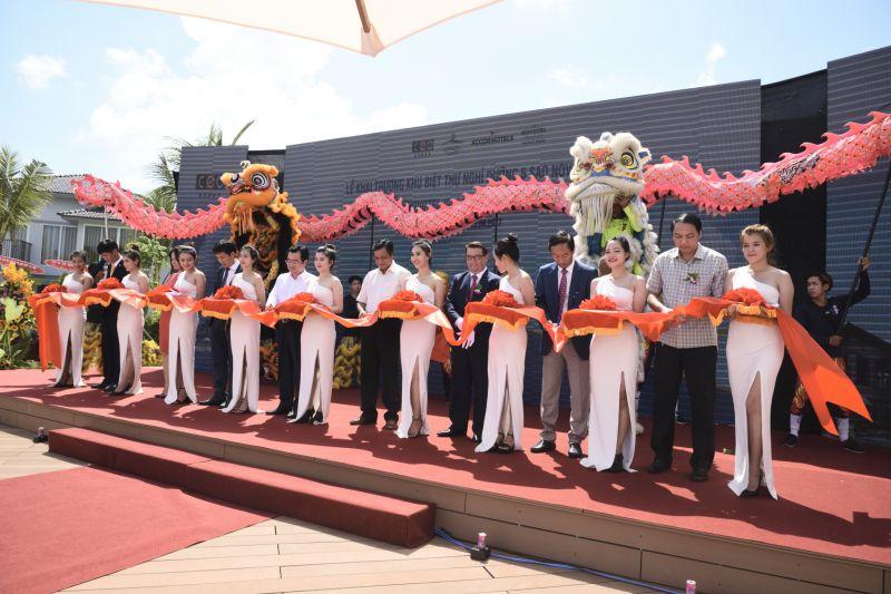 Quang cảnh buổi lễ khai trương Novotel Villas