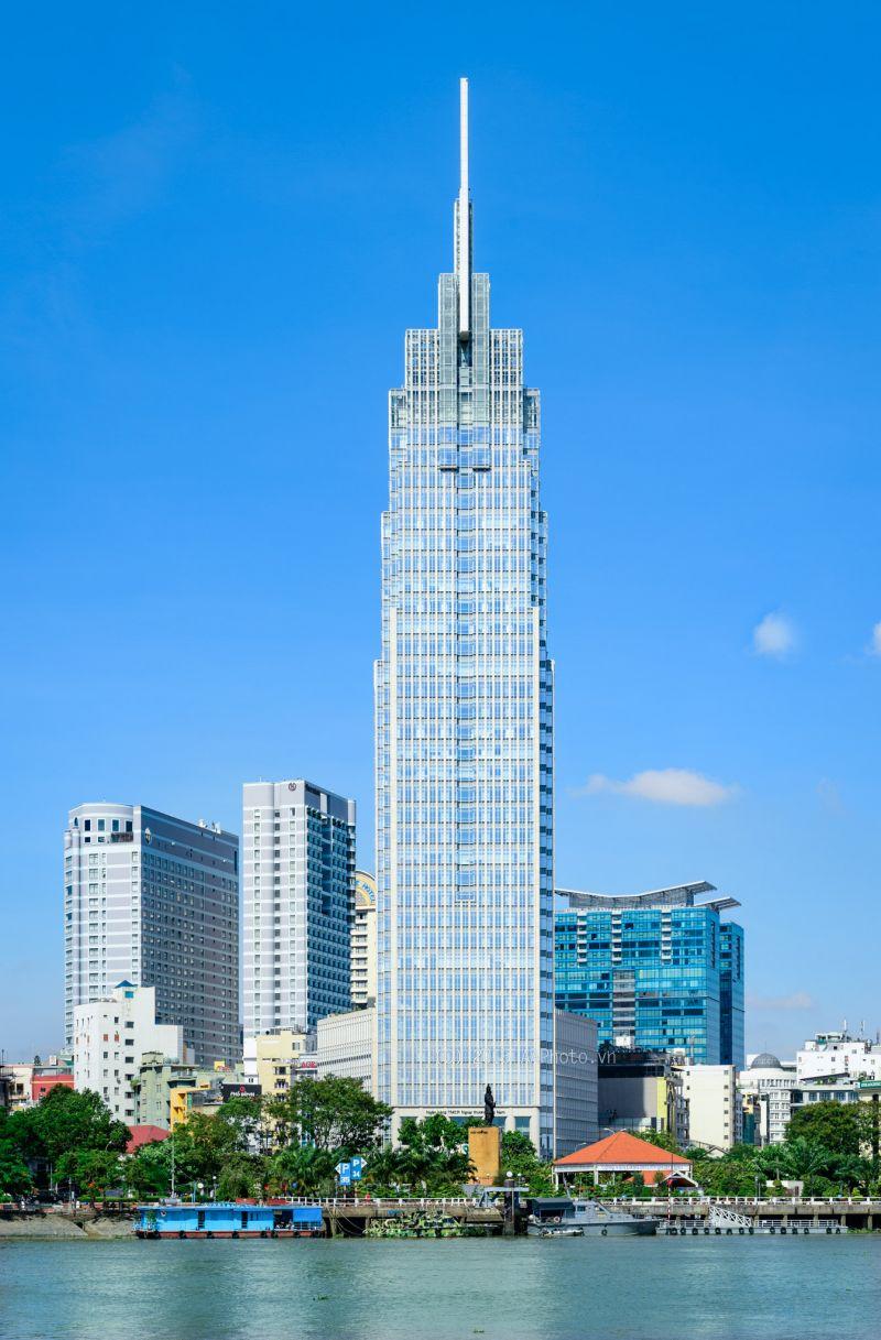 Tòa nhà Vietcombank Bonday Bến Thành sử dụng sản phẩm vách nhôm kính lớn của Eurowindow