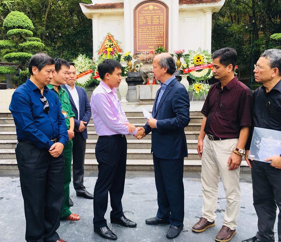 Hiệp hội Bất động sản Việt Nam đã trao tặng cho Quỹ Vì Người nghèo tỉnh Hà Tĩnh