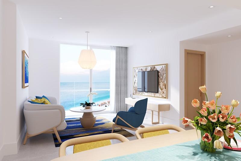 SunBay Park Hotel & Resort Phan Rang cóp/tiềm năng công suất buồng phòng vượt trội.
