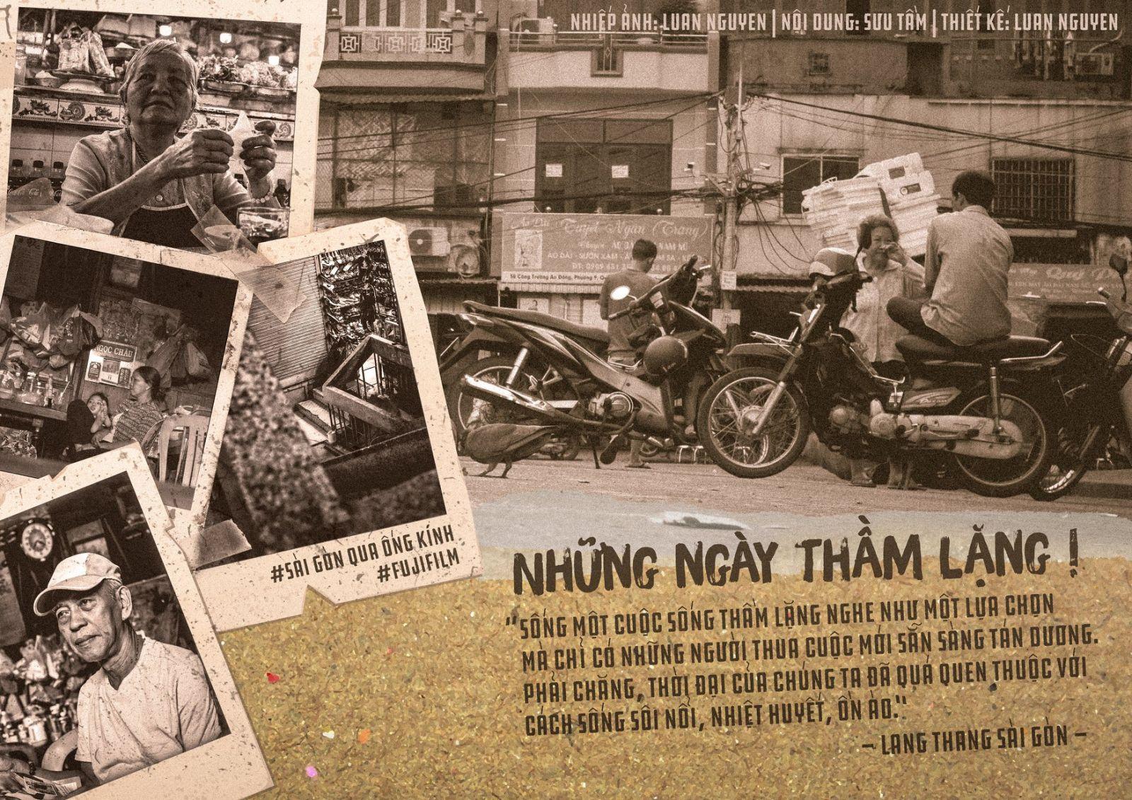 Có một Sài Gòn không hối hả
