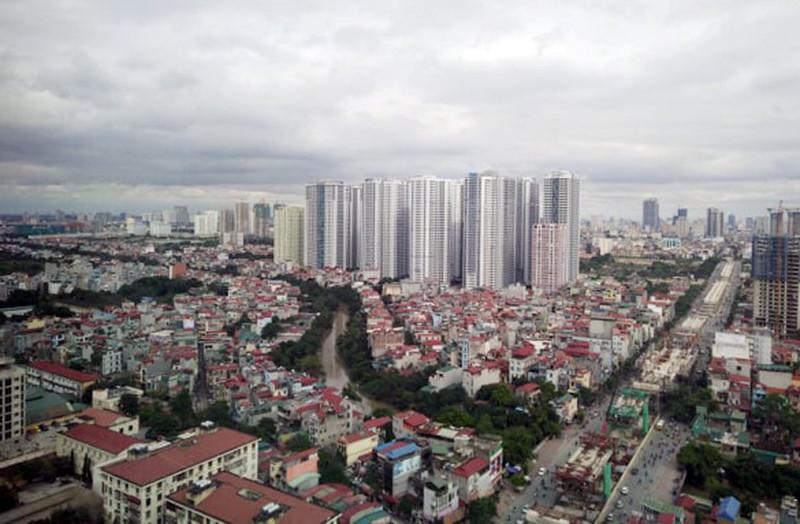 Phía Tây của thủ đô Hà Nội. Ảnh: Mạnh Hưng.