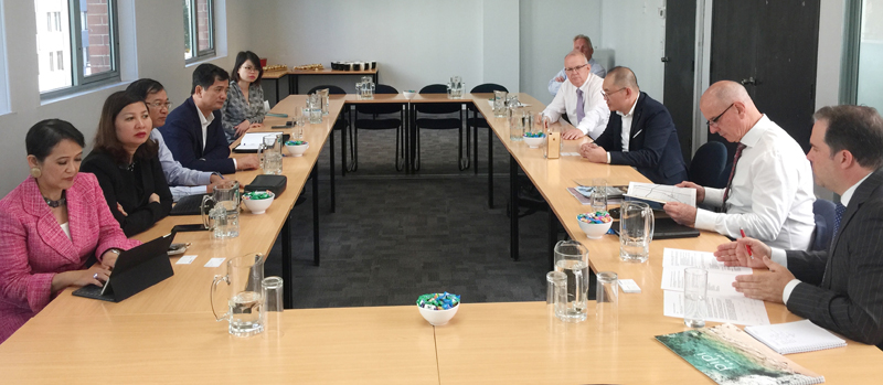 Toàn cảnh buổi làm việc giữa VNREA, VARS và Hiệp hội BĐS Australia