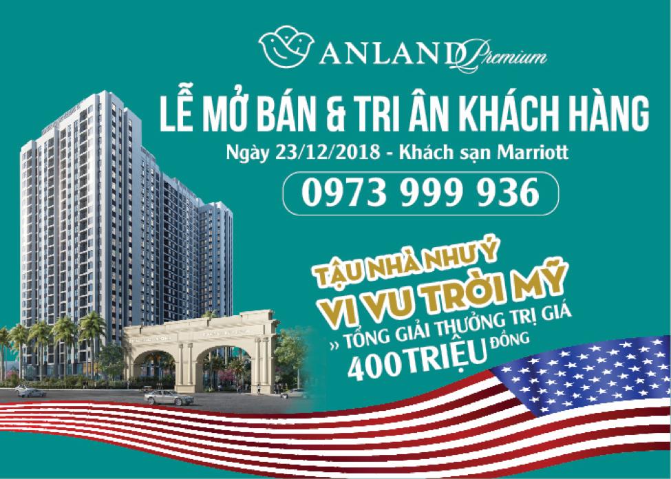Những phần quà giá trị trong Lễ Mở bán và Tri ân khách hàng Dự án Anland Premium.