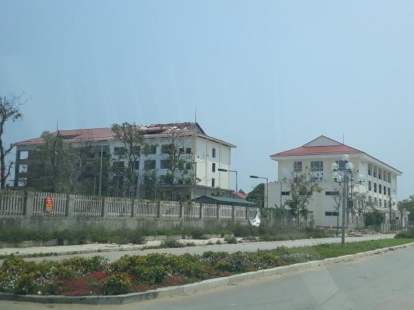 Công ty Erro xây dựng nhiều hạng mục khi chưa được cấp phép xây dựng.