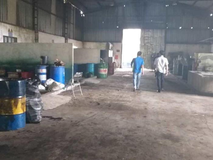 Khu xử lý chất thải nguy hại của doanh nghiệp Việt Thảo.