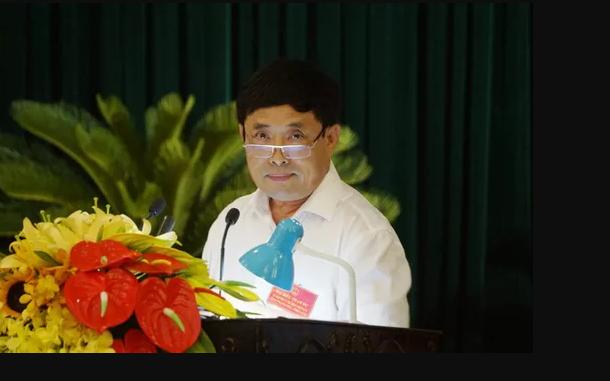 Ông Đào Trọng Quy, Giám đốc Sở Tài nguyên và Môi trường Thanh Hóa.