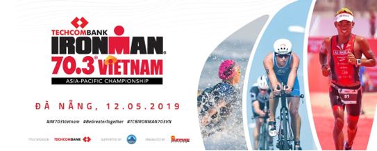 Techcombank Ironman 70.3 năm 2019 tiếp tục diễn ra tại thành phố biển Đà Nẵng và đang nóng lên từng ngày khi đúng vào năm thứ 5 diễn ra cuộc thi lần đầu tiên được nâng lên tầm khu vực châu Á - Thái Bình Dương.