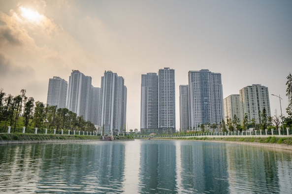 Khu đô thị TNR Goldmark City 36 Hồ Tùng Mậu được biết đến như một kiến trúc mang phong cách Singapore tiêu biểu ở Hà Nội.