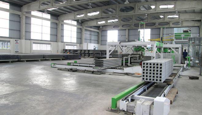 Các nhà sản xuất vật liệu xây dựng không nung cần đầu tư dây chuyền, công nghệ hiện đại để nâng cao chất lượng sản phẩm.
