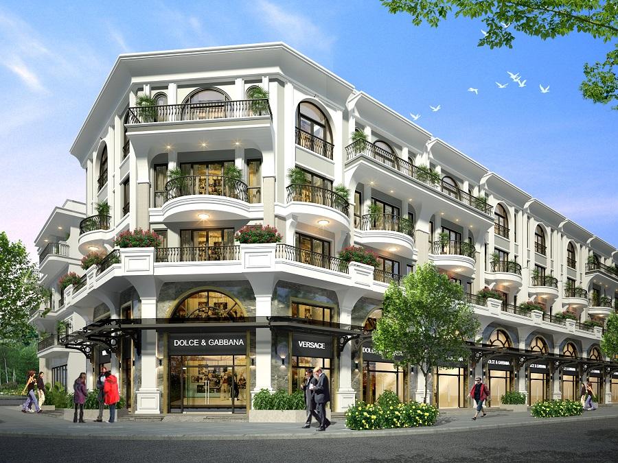 Với không gian hiện đại và rộng rãi, Shop-villa đảm bảo các công năng ở và kinh doanh một cách tối ưu nhất - Ảnh: ĐP
