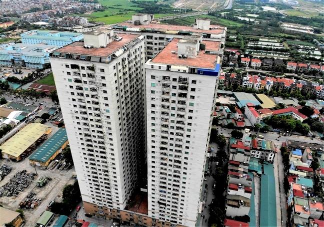 tại tòa CT6A, CT6B ở dự án tổ hợp chung cư cao cấp và thương mại Bemes, phường Kiến Hưng, quận Hà Đông