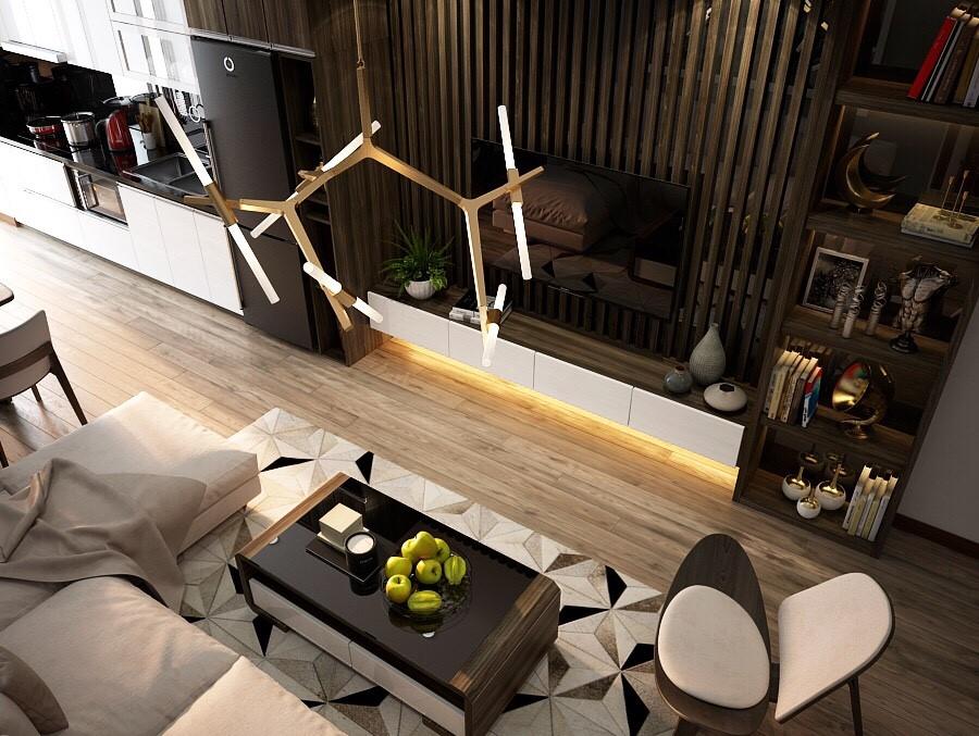 Chiêm ngưỡng phong cách kiến trúc nội thất sang trọng tại căn hộ Mỹ Đình I