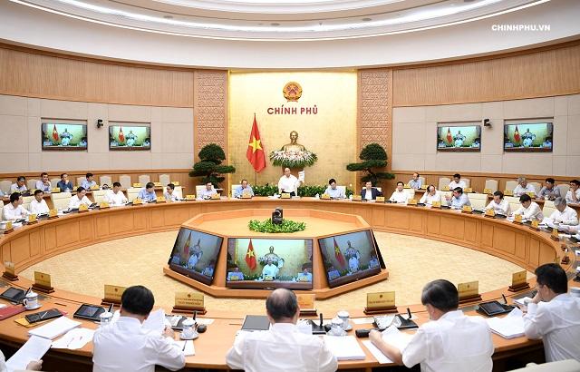 Chính phủ họp phiên thường kỳ tháng 7