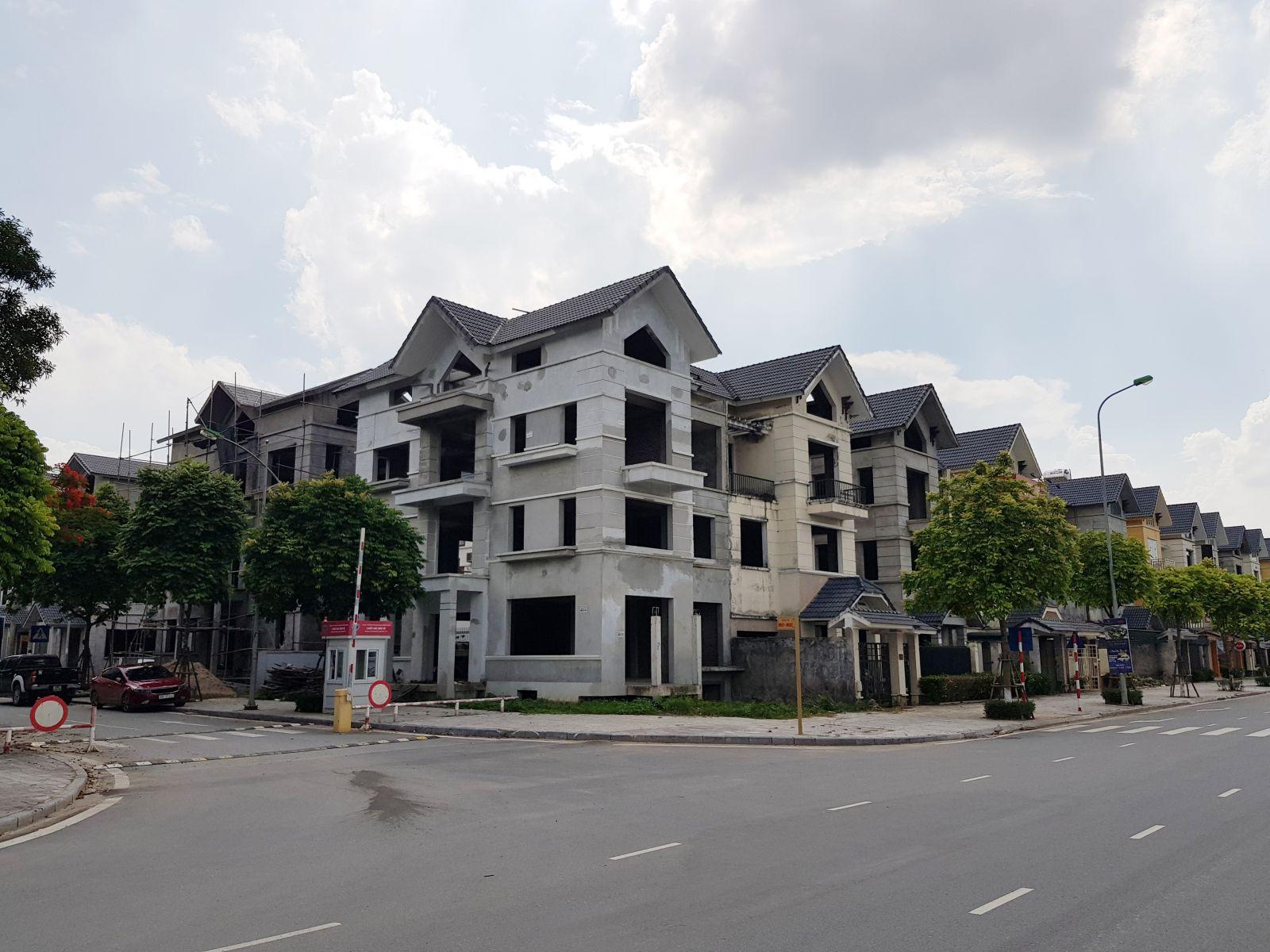 Khu đô thị mới Dương Nội xây sai so với quyết định chi tiết tỷ lệ 1/500.