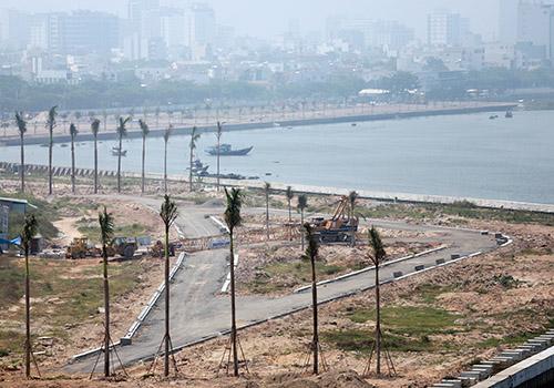Dự án Marina Complex đã được yêu cầu tạm dừng. Ảnh: Nguyễn Đông