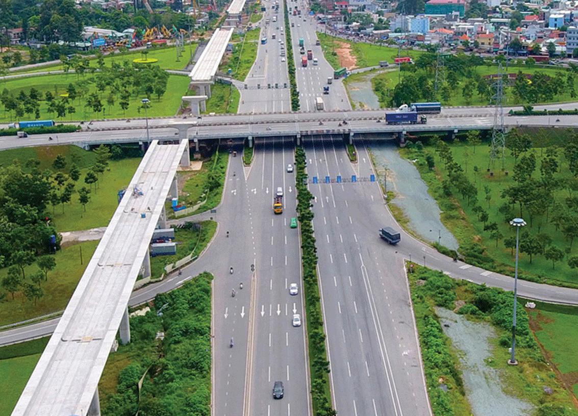Hệ thống hạ tầng giao thông đồng bộ tạo động lực cho thị trường BĐS khu Đông thêm sôi động.
