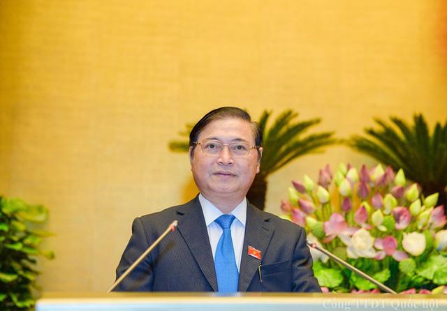 Chủ nhiệm Ủy ban Khoa học, Công nghệ và Môi trường (KH, CN&MT) Phan Xuân Dũng. Ảnh: Quochoi.vn