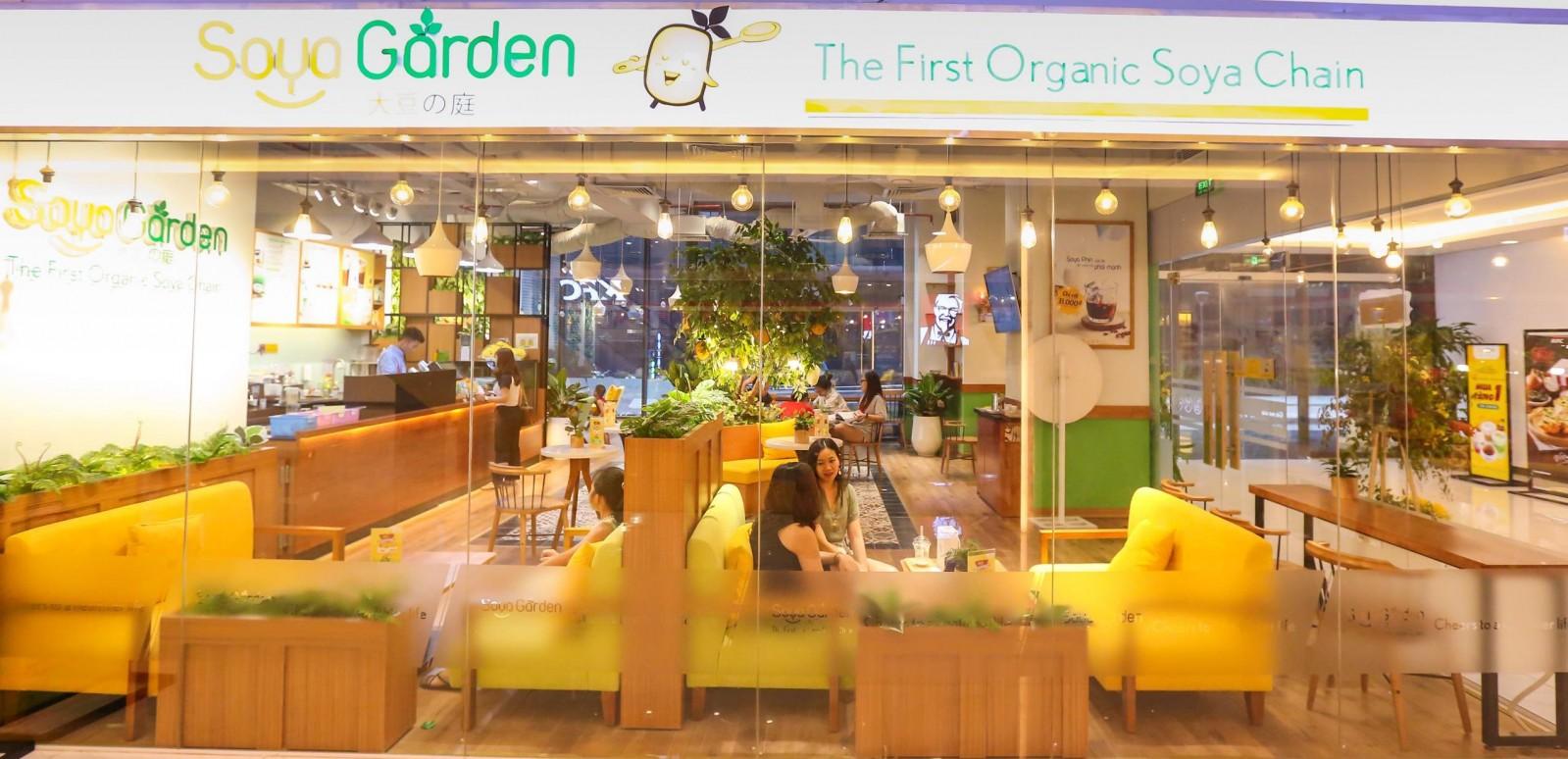 Hay Soya Garden… là nơi lũ trẻ nhà tôi hay ngồi buôn chuyện với bạn bè