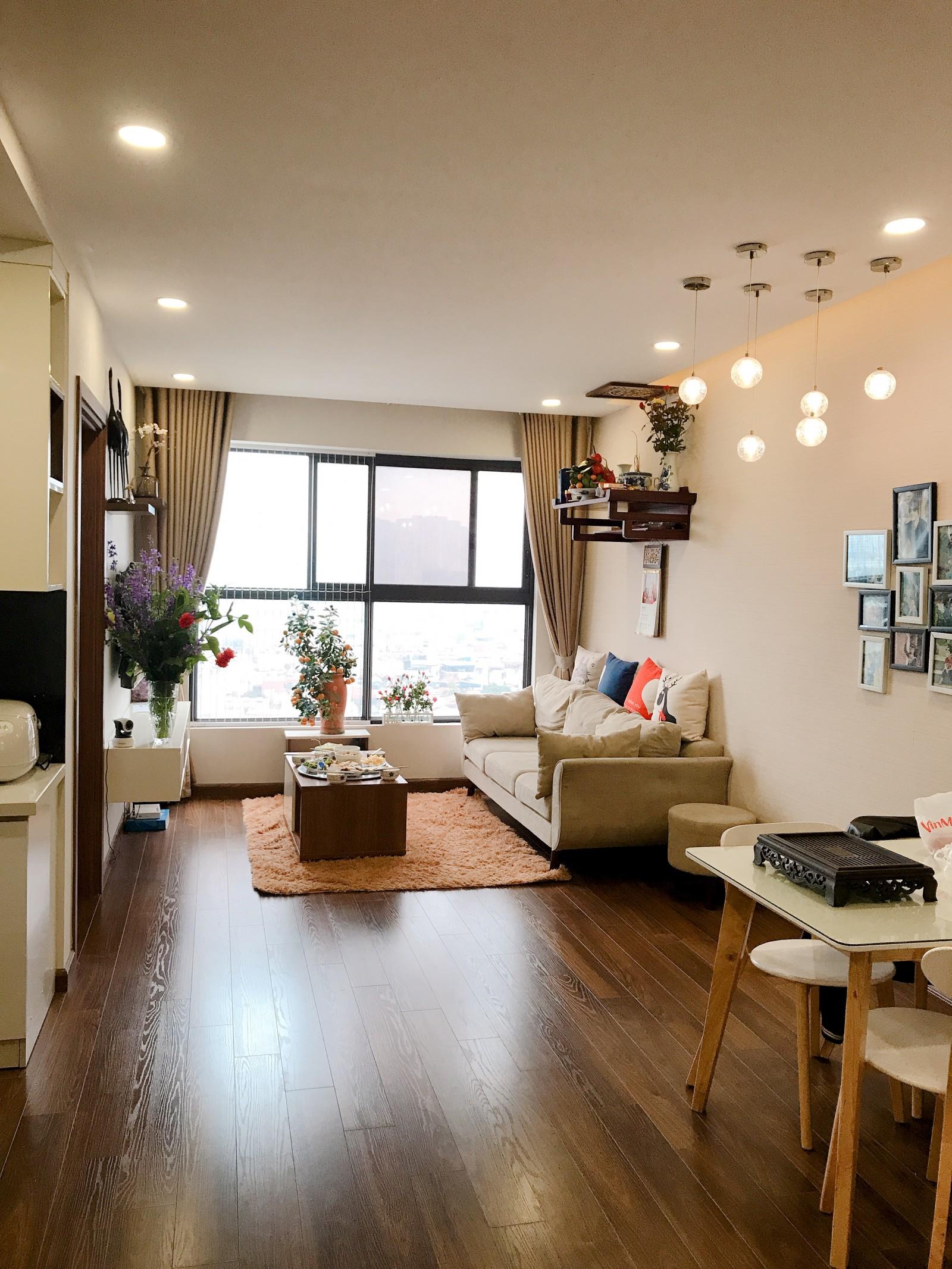 Căn hộ nhỏ của gia đình tôi nằm tại tháp G1, tầng 12, Five Star Garden số 2 Kim Giang, Thanh Xuân, Hà Nội