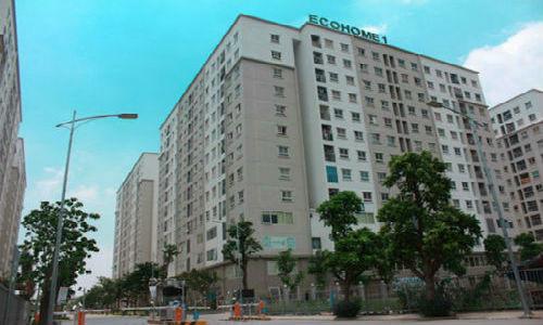 Khu nhà ở Ecohome 1, đường Kẻ Vẽ, phường Đông Ngạc, quận Bắc Từ Liêm, Hà Nội