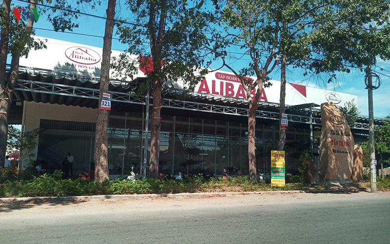 Lô đất hơn 10 ha nằm phía sau trụ sở của Alibaba tại xã Châu Pha