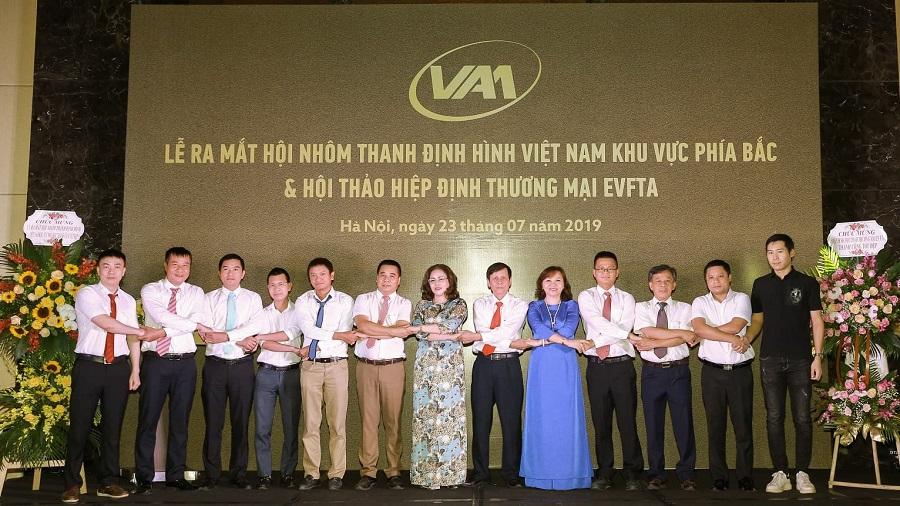 Lễ ra mắt Hội Nhôm thanh định hình Việt Nam.