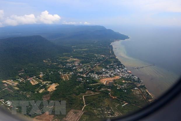 Một góc huyện đảo Phú Quốc. (Nguồn: TTXVN)