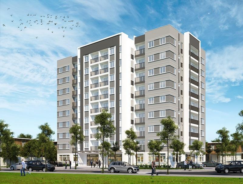 Tòa chung cư cao cấp liền kề trung tâm hành chính thị xã Buôn Hồ chuẩn bị khởi công