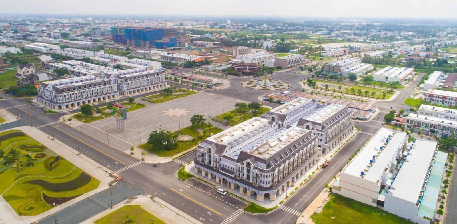 Một góc khu đô thị mới lấn biển Rạch Giá - Kiên Giang.