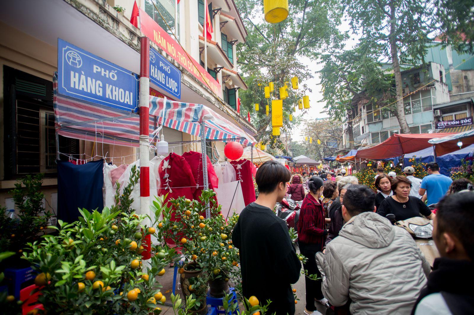 Chợ hoa Hàng Lược là một phần không thể thiếu khi nói đến Tết của người Hà Nội, đặc biệt bởi tính lâu đời và mỗi năm chỉ họp duy nhất một lần.