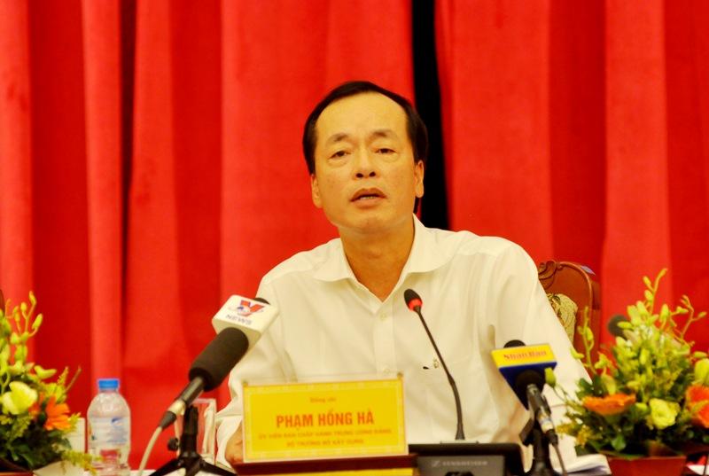 Bộ trưởng Phạm Hồng Hà chỉ ra những bất cập và các giải pháp cho thị trường BĐS trong nước, đồng thời đánh giá cao vai trò của Hiệp hội BĐS.