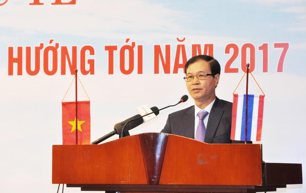 Ông Nguyễn Mạnh Hà - Phó Chủ tịch Hiệp hội BĐS Việt Nam phát biểu tại Hội thảo.