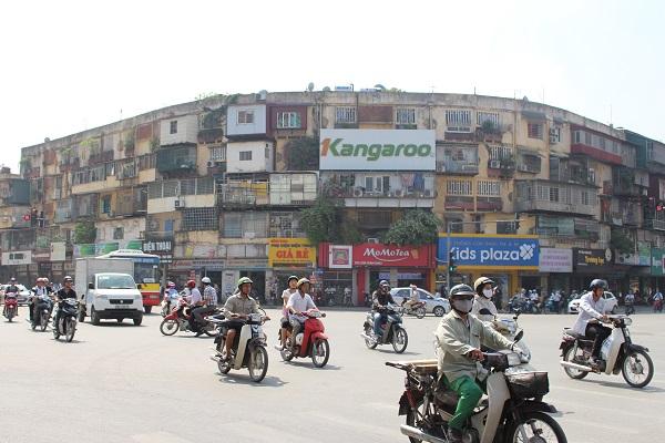 Chung cư A12 Khương Thượng nằm tại vị trí