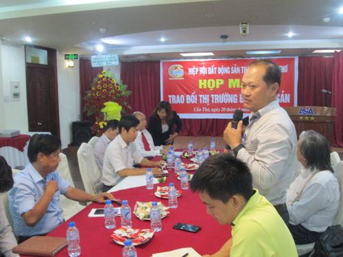 hiệp hội BĐSTP Cần Thơ tổ chức họp mặt trao đổi về thị trường BĐS 6 tháng đầu năm.