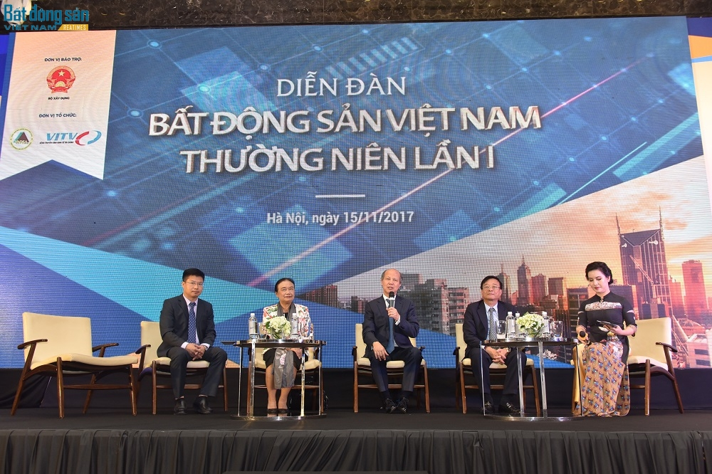 Toàn cảnh Diễn đàn bất động sản Việt Nam thường niên lần I
