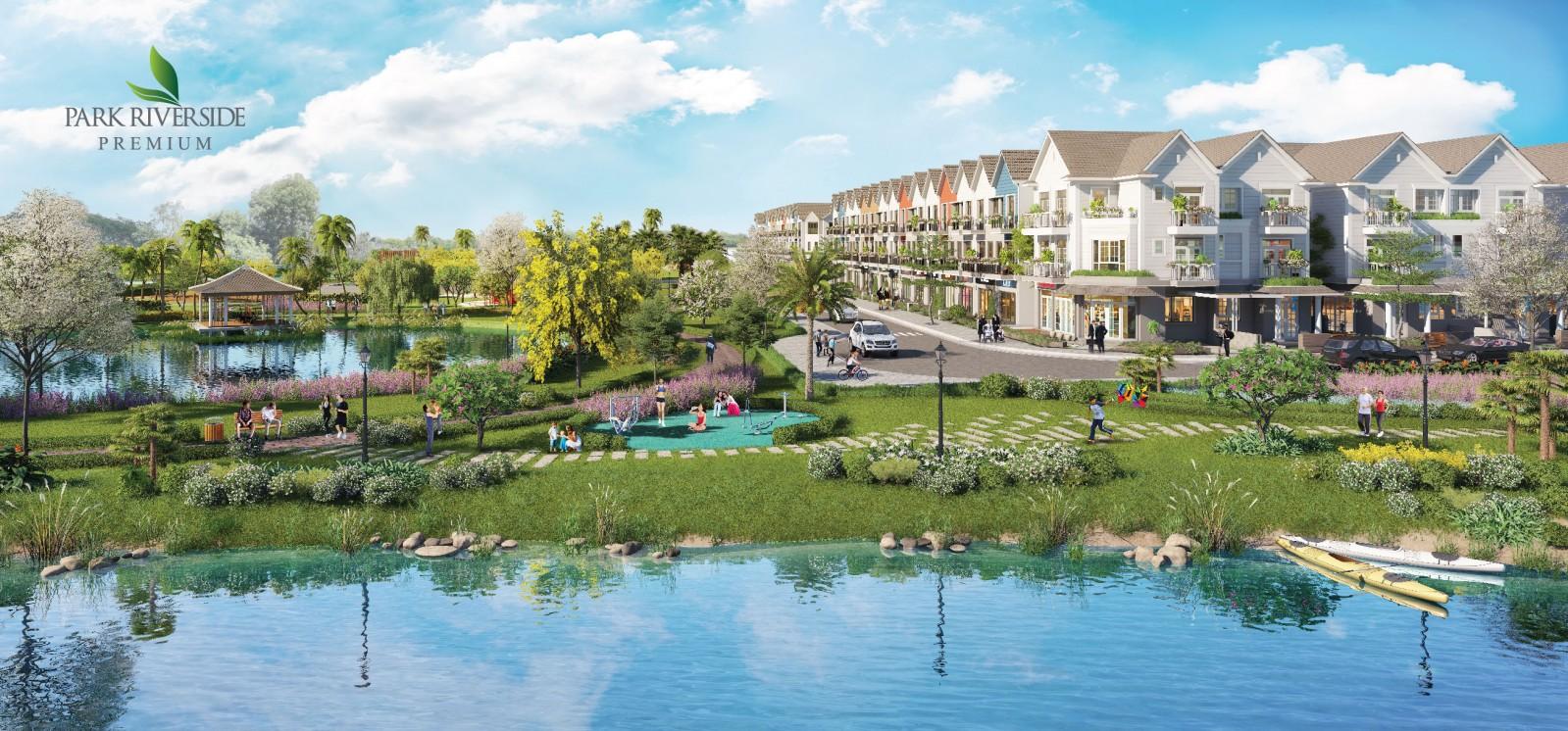 Giải thưởng Dự án ven sông tốt nhất được trao cho dự án Park Riverside & Park Riverside Premium.