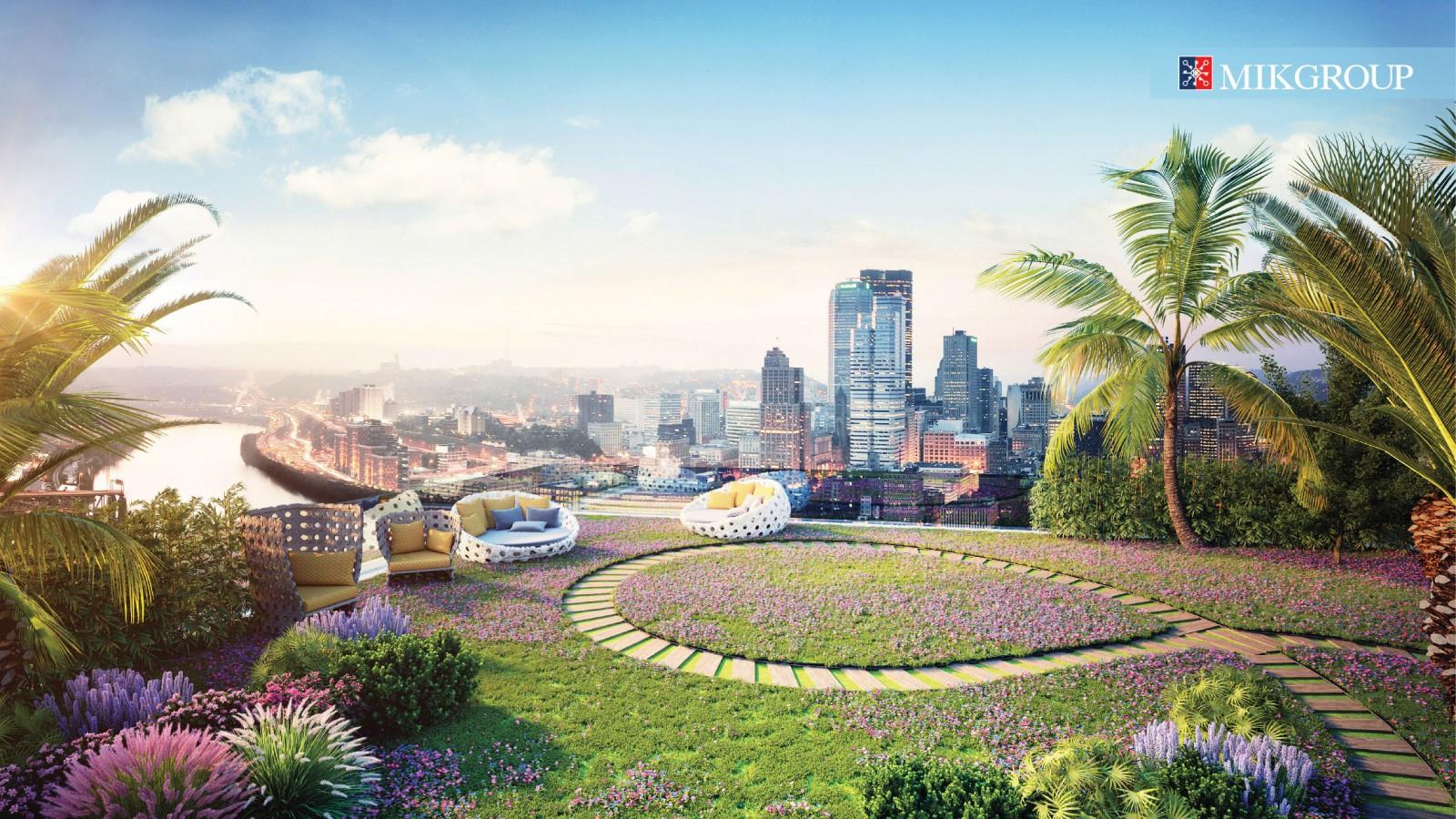 Imperia Sky Garden của MIKGroup từng được Dot Property trao giải thưởng Dự án xanh tốt nhất Việt Nam tháng 6/2017.