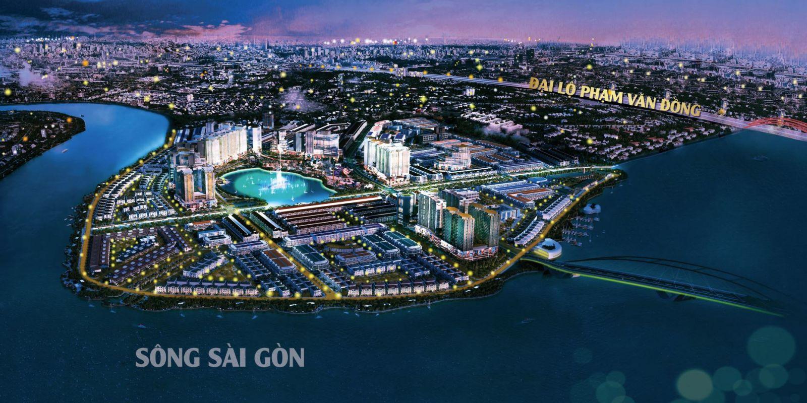 Van Phuc City nằm ở vị trí đắc địa cửa ngõ Đông Bắc Tp.HCM