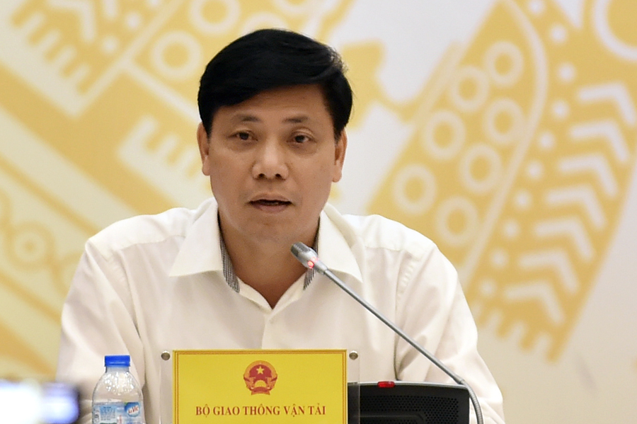 Thứ trưởng Bộ GTVT Nguyễn Ngọc Đông khẳng định Dự án đường sắt đô thị Cát Linh-Hà Đông sẽ không lùi tiến độ. Ảnh: VGP.