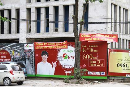 Công ty cổ phần Sông Đà 1.01 chưa có động thái phản ứng hay trấn an khách hàng khiến nhiều người lo lắng nghi án trên là có thật. Ảnh: Thành Nguyễn.