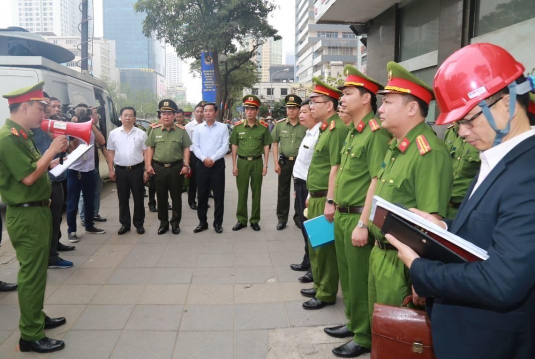 Kiểm tra đột xuất nhiều chung cư ở Hà Nội về phòng cháy chữa cháy