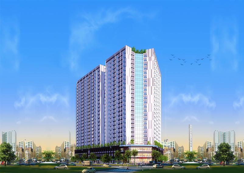 Phối cảnh tổng thể dự án P.H Complex Nha Trang.