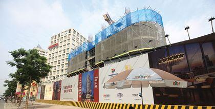 Dự án Thành An Tower có tiền sử chây ỳ nghĩa vụ thuế, phí. Ảnh: Dũng Minh.