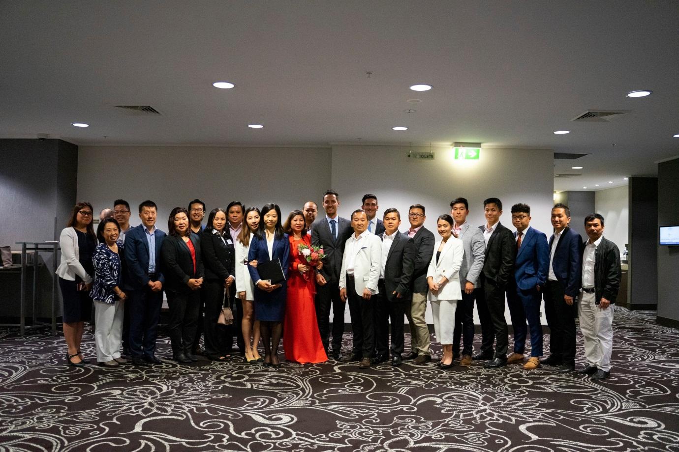 Đoàn đại biểu doanh nghiệp Australia tại hội nghị