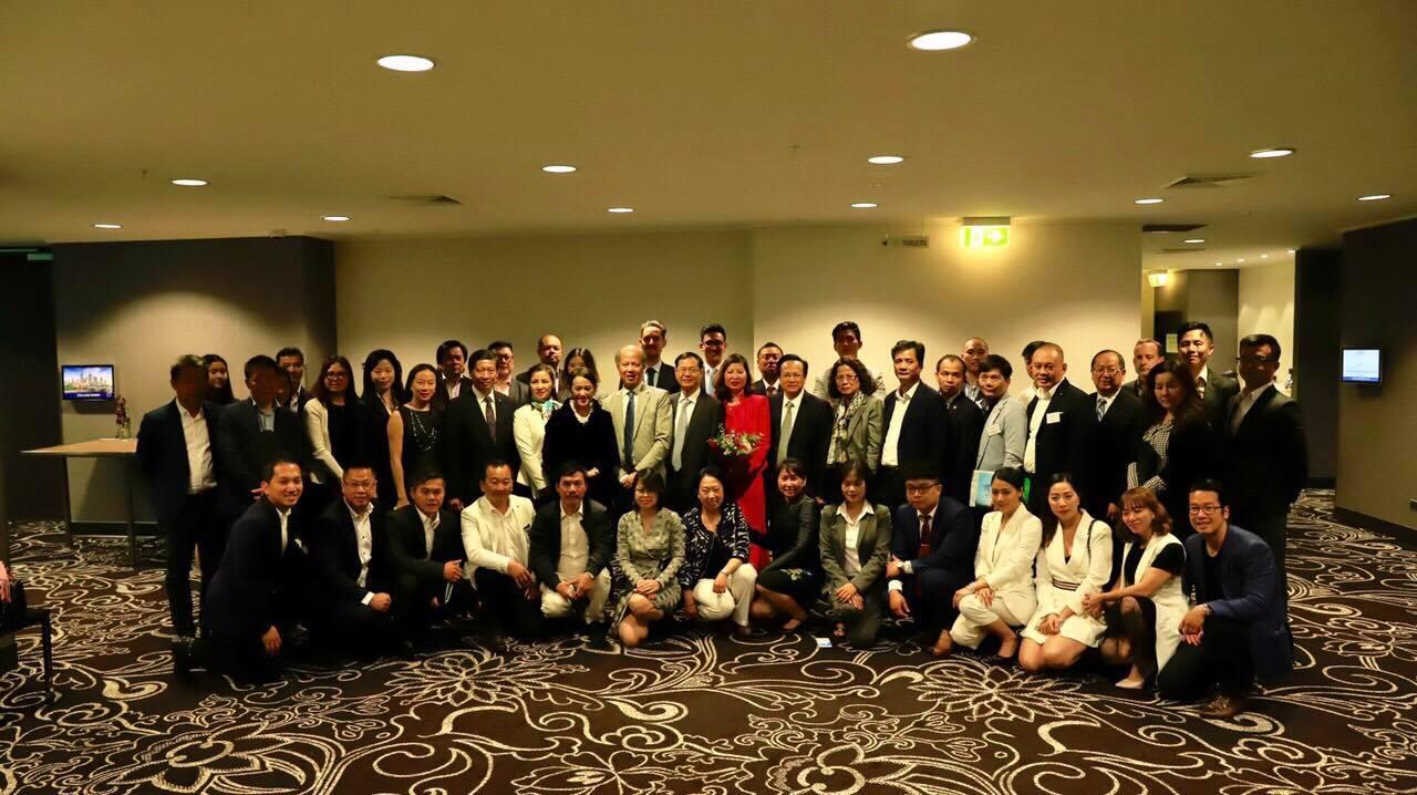 Giao lưu giữa cộng đồng doanh nghiệp bất động sản hai nước Australia và Việt Nam