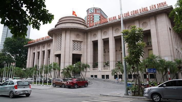Trụ sở Ngân hàng Nhà nước - Ảnh: Quang Phúc.