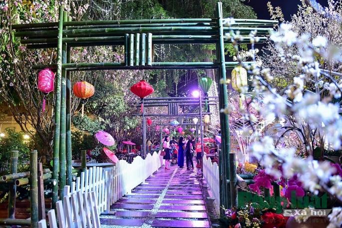 Mô hình cổng tre đúng theo phong cách truyền thống của đất nước mặt trời mọc.