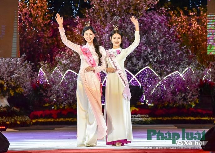 Một trong những điểm nhấn tại lễ hội là lần đầu tiên Ban tổ chức tiến hành tuyển chọn Đại sứ thiện chí hoa anh đào Việt Nam, người góp phần thúc đẩy sự giao lưu hữu nghị Việt Nam - Nhật Bản.